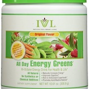 All Day Energy Greens - Original, Green Superfood Powder, 10.5 Oz Container - 1 Month Supply